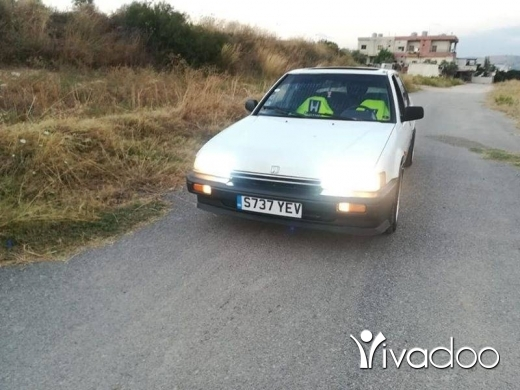Honda in Tripoli - هوندا 87 انقاض مكيفه 4إزازات كهربا موتار كتير نضيف فيتاس اوتوماتيك