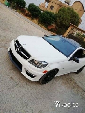 Mercedes-Benz in Port of Beirut - mercedes c
