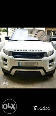 Rover in Port of Beirut - Range rover Evoque Dynamic PLUS