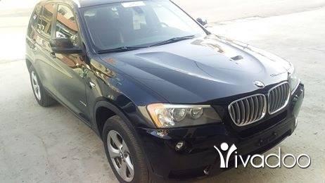 BMW in Chtaura - BMW X3 black panoramic 2011 2.8 ajnabi