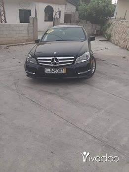 Mercedes-Benz in Akkar el-Atika - سياره كتير نضفي خارقه مافيا حوادث اجنبيه موديل 2012 سي 250