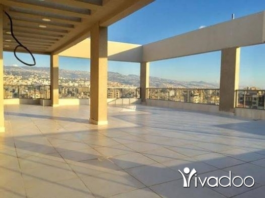 Apartments in Beirut City - Apartment in Furn el chebbak with a massive terrace 12th floor open view