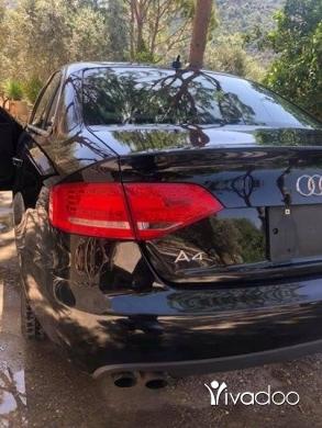 Audi in Beirut City - Audi A4 2012 2.0T black on black ajnabeyi