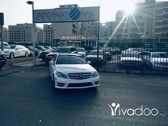 مرسيدس بنز في مرفأ بيروت - Mercedes C250 2012