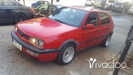 Volkswagen in Port of Beirut - غولف ٣موديل ٩٥ ا