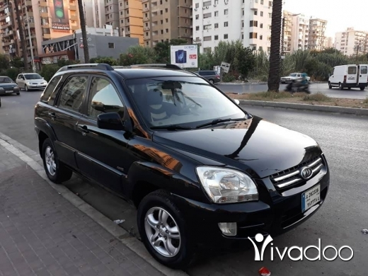 Kia in Tripoli - كيا اسبورتاج 4X4 شركة 2008