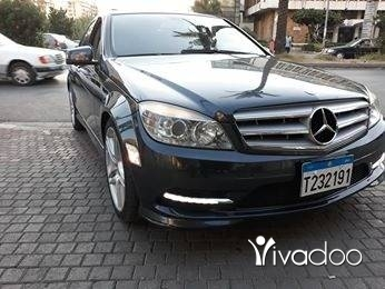 Mercedes-Benz in Beirut City - C 300 2010 شركة جديدة
