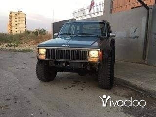 Jeep in Tripoli - Jeeb model 88