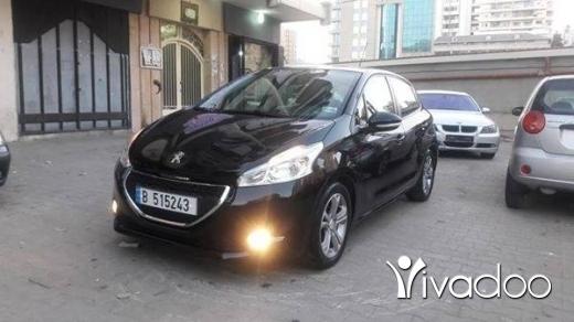 Peugeot in Tripoli - pegeout 208