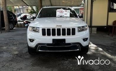 Jeep in Sin el-Fil - Gr Cherokee limited 2014 white 3.6L V6