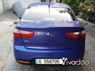 Kia in Tripoli - كيه ريو مودال 2014 بعدا شركي