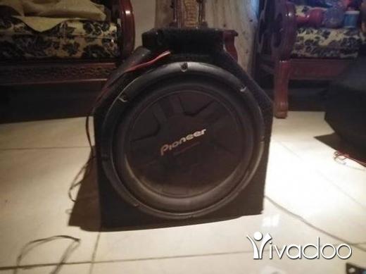 Accessories in Nabatyeh - Bazooka, 2 speaker, orange 1600w