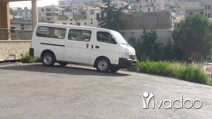Vans in Nabatyeh - فان نيسان يورفان اجنبي سياحي
