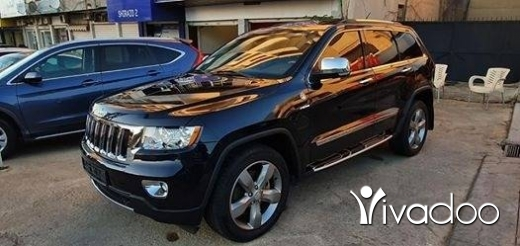 Jeep in Port of Beirut - Grand Cherokee OverLand