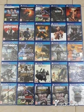 Games in Tripoli - Cd ps4