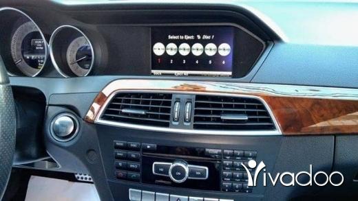 Mercedes-Benz in Beirut City - C300 ajnabeih big screan camera bassmeh look AMG mod 2013 klm 50 alf