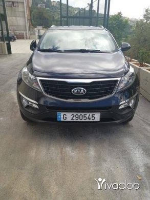 Kia in Jal el-Dib - 2016 KIA SPORTAGE FULLY LOADED 26000 KM LIKE NEW 17300$