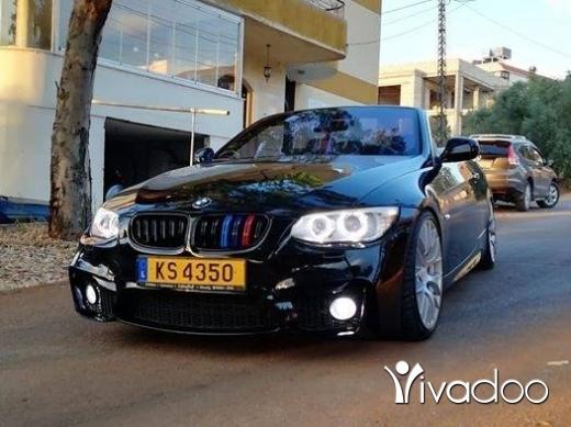 BMW in Nabatyeh - E93 ajnbeye 328 full meshye 70.000
