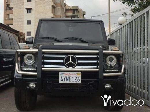 Mercedes-Benz in Beirut City - Mercedes G 550