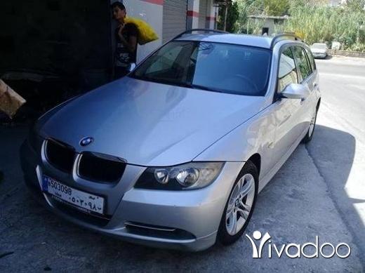 BMW in Choueifat - للبيع او تبديل بي ام E90 مفولي 4 سلندر موديل 2007 مسجلي مدفوع ميكانيك