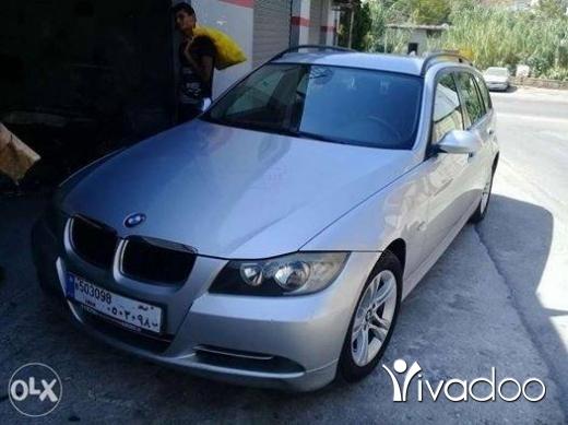 BMW in Choueifat - للبيع او تبديل بي ام E90 مفولي 4 سلندر موديل 2007