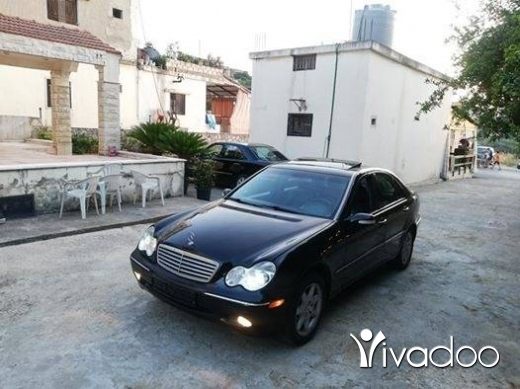 Mercedes-Benz in Nabatyeh - mercedes C.240 model 2001 aswad alb aswad moter vites mikanic ac top contact 03237206