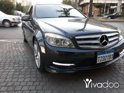 Mercedes-Benz in Beirut City - C 300 2010 شركة جديدة