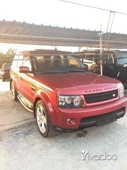 Rover in Tripoli - range rover super charge
