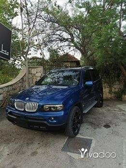 BMW in Hasbaya - bmw x5 2003 look 2006 v8 ktr ndeef