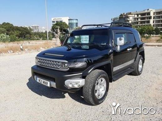 Toyota in Tripoli - Fj 2007 look evougue