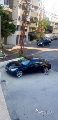 Infiniti in Port of Beirut - Infinity g37s convertible 2010 ajnabieh