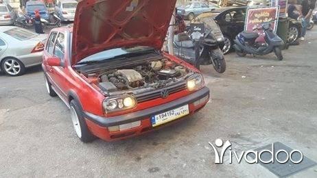 Volkswagen in Port of Beirut - غولف ٣