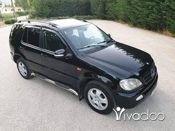 Mercedes-Benz in Zahleh - مرسيدس ام ال ٢٠٠١ مفول اسود قلب اسود فتح