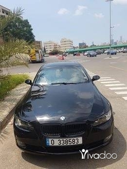 BMW in Beirut City - bmw e92 328 model 2009 black in black full options