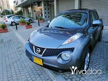 Nissan in Tripoli - Nissan juke model 2012