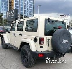 Jeep in Beirut City - Jeep wrangler