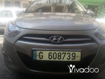 Hyundai in Port of Beirut - Hyundai i10 model 2012