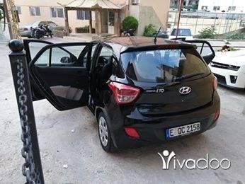 Hyundai in Deir Ammar - هوندي كرند i10 مودال 2015 سيارة.شركي للبيغ