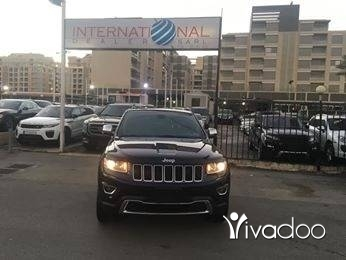 Jeep in Port of Beirut - Grand Cherokee Limited 2014