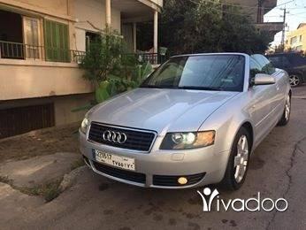 Audi in Port of Beirut - audi a4 cabriolet 2003