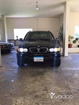 BMW in Beirut City - Jeep bmw x5 model 2003 new car ma bado chi full low mileage kilo sherki good price 71/561000