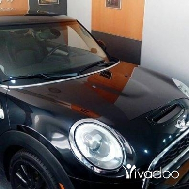 Mini in Beirut City - Mini Cooper S Model 2015 only 40,000mls full options with Panoramic roof,Xenon light, real black lea