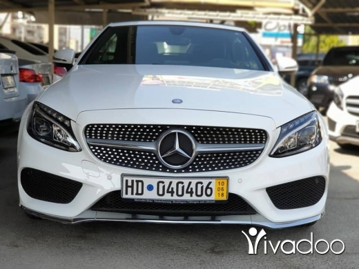 Mercedes-Benz in Port of Beirut - 2017 C180 Cabrio