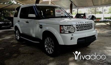 Land Rover in Beirut City - LR4 2012 white LUX