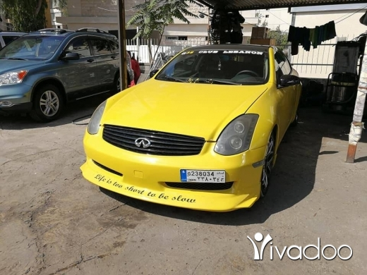 Infiniti in Port of Beirut - Infinity G35