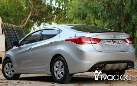 Hyundai in Beirut City - هيونداي النترا 2013