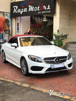Mercedes-Benz in Beirut City - Mercedes-Benz C200 Convertible 2017