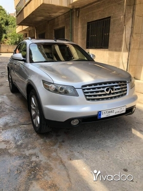 Infiniti in Beirut City - Infinity FX35 tecnology 2003