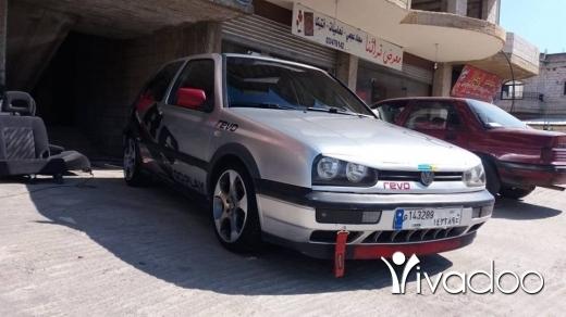 Volkswagen in Chtaura - GOLF 3 model l96 enkad