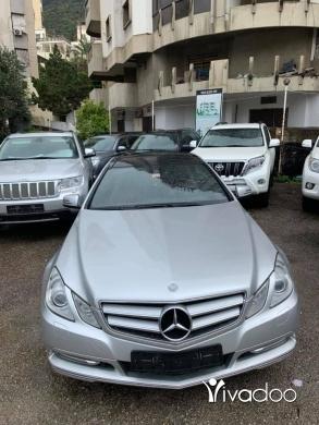 Mercedes-Benz in Beirut City - Mercedes E350 2012